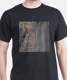 rustic country barn wood lace T-Shirt