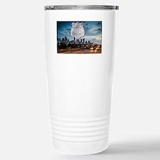 Unique Texas police Travel Mug