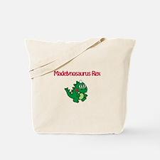 Madelynosaurus Rex Tote Bag