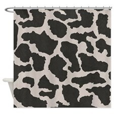 cowhide, cow pattern Shower Curtain