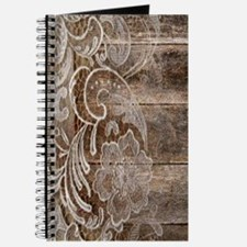 barn wood lace western country Journal