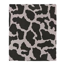 Cowhide, Cow Pattern Throw Blanket