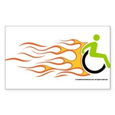 Cute Wheelchair Decal