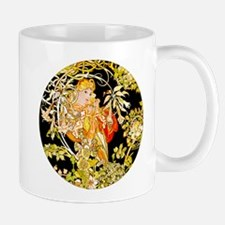 Mucha Marguerite Bower Mugs