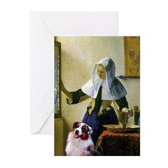 Pitcher-Aussie Shep1 Greeting Cards (Pk of 20)