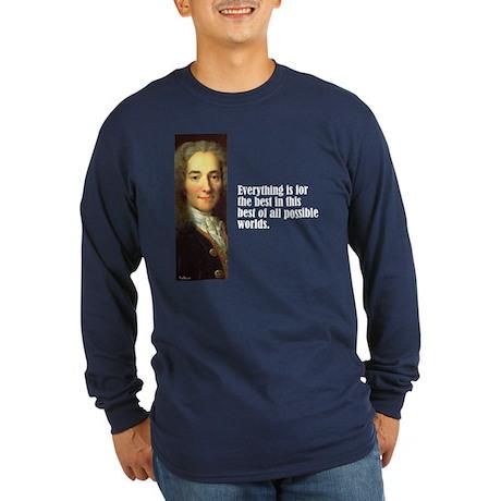"Voltaire ""Best of All"" Long Sleeve Dark T-Shirt"