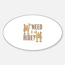 Need A Ride Decal