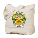 Romo Family Crest Tote Bag