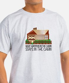 Stays In The Cabin T-Shirt
