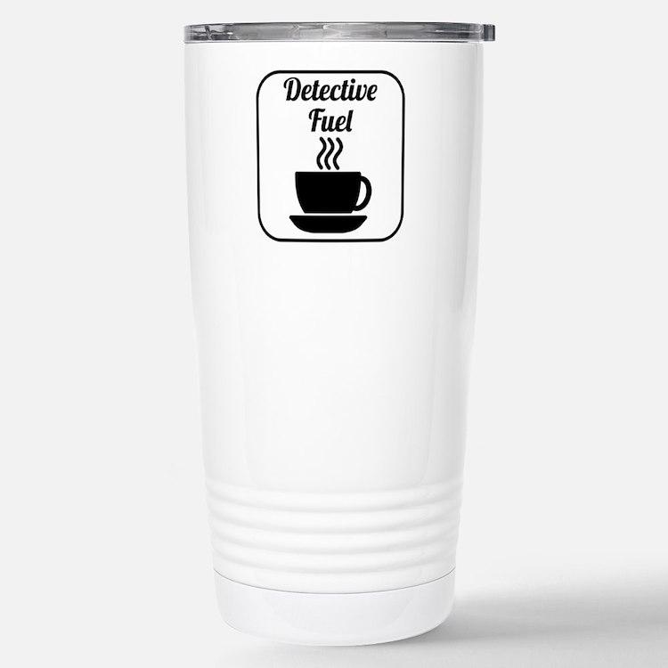 Detective Fuel Travel Mug