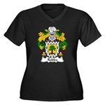 Robles Family Crest Women's Plus Size V-Neck Dark