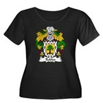 Robles Family Crest Women's Plus Size Scoop Neck D