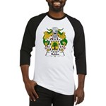 Robles Family Crest Baseball Jersey
