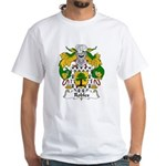 Robles Family Crest White T-Shirt
