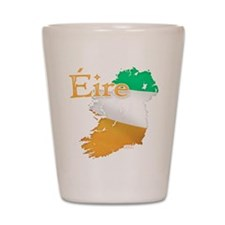 Eire Ireland Flag Shot Glass