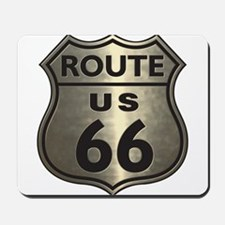 Chrome Route66 Mousepad