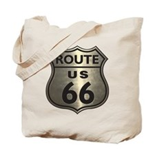 Chrome Route66 Tote Bag