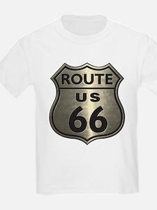 Chrome Route66 T-Shirt