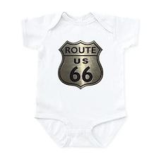 Chrome Route66 Infant Bodysuit