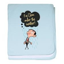 Mr. Bean: Under The Weather baby blanket
