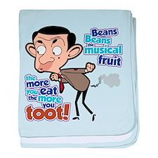 Mr. Bean: Magical Beans baby blanket