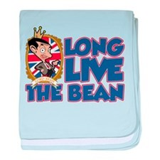 Long Live The Bean baby blanket