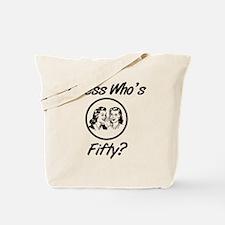 Retro 50th Birthday Tote Bag