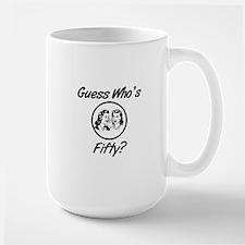 Retro 50th Birthday Mug