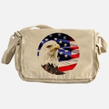 Bald Eagle Messenger Bag