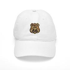Golden Route66 Baseball Cap
