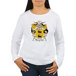 Rezende Family Crest Women's Long Sleeve T-Shirt