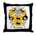 Rezende Family Crest Throw Pillow