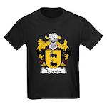Rezende Family Crest Kids Dark T-Shirt