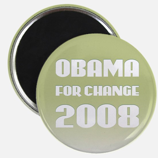 Obama For Change Magnet