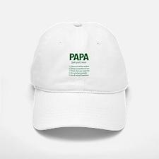 Papa Noun Definition Baseball Baseball Cap