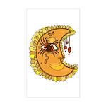 Luna Rectangle Sticker