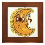 Luna Framed Tile