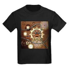 Steampunk , cute owl T-Shirt
