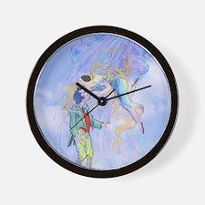 OZ, Polychrome's Kiss Wall Clock
