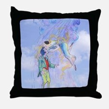 OZ, Polychrome's Kiss Throw Pillow