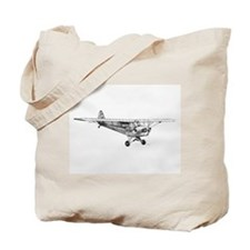 Piper Cub Tote Bag