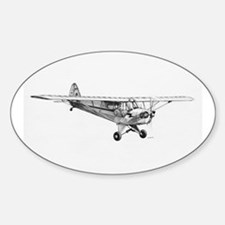 Piper Cub Oval Decal