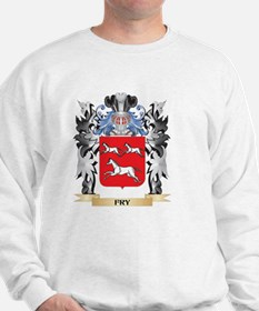 Fry Coat of Arms - Family Crest Sweatshirt
