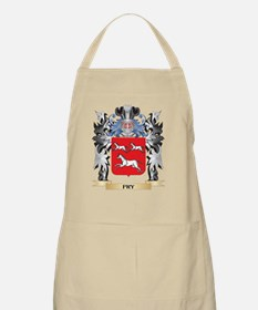 Fry Coat of Arms - Family Crest Apron