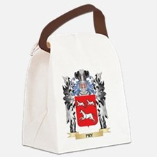 Fry Coat of Arms - Family Crest Canvas Lunch Bag
