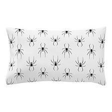 Black Widows Pattern Pillow Case