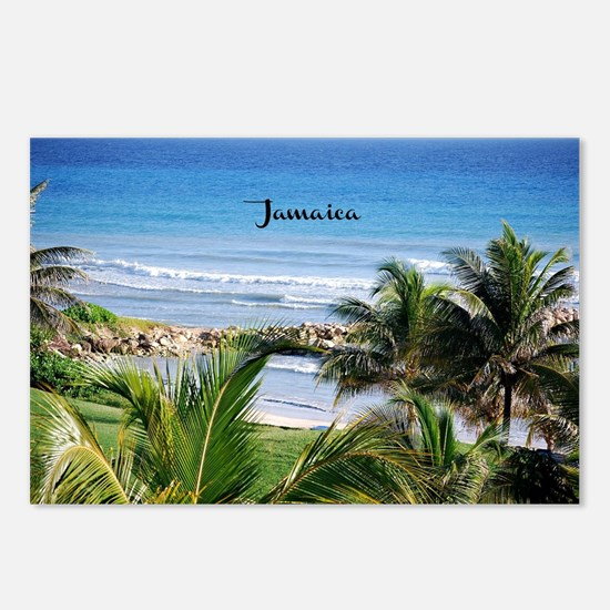 Unique Palm trees Postcards (Package of 8)