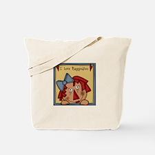 luv raggedies Tote Bag