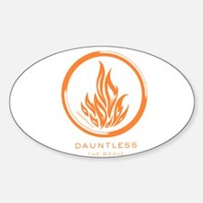 Cute Divergent Sticker (Oval)