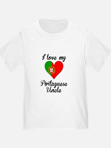 I Love My Portuguese Uncle T-Shirt